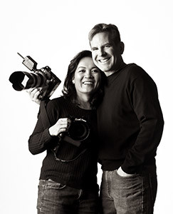 Photographers Eric and Moni Stephenson